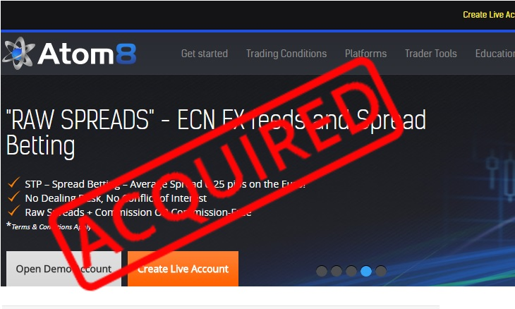 Atom8 FCA broker acquired