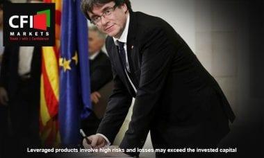 Catalonia independence Spain economy CFI Markets
