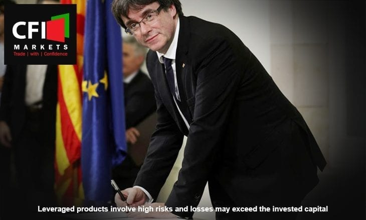 Catalonia independence Spain economy CFI Markets