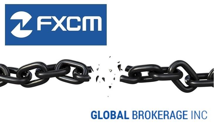 FXCM GLBR terminate management agreement