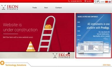 IKON Finance website