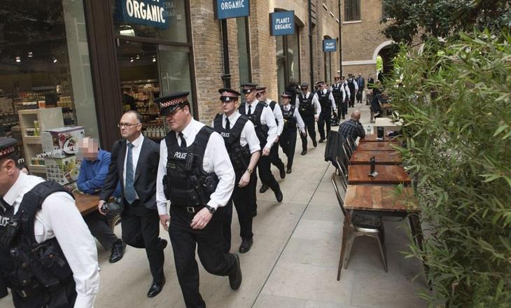 London police raid binary options