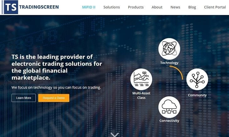 TradingScreen website