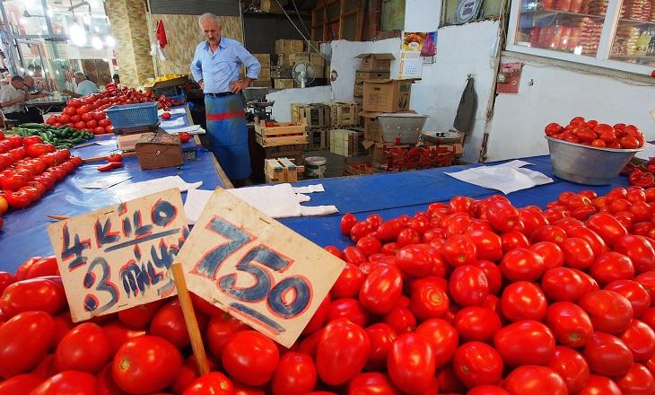 Turkey inflation tomato