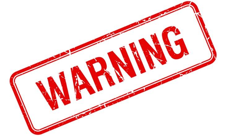 asic warning
