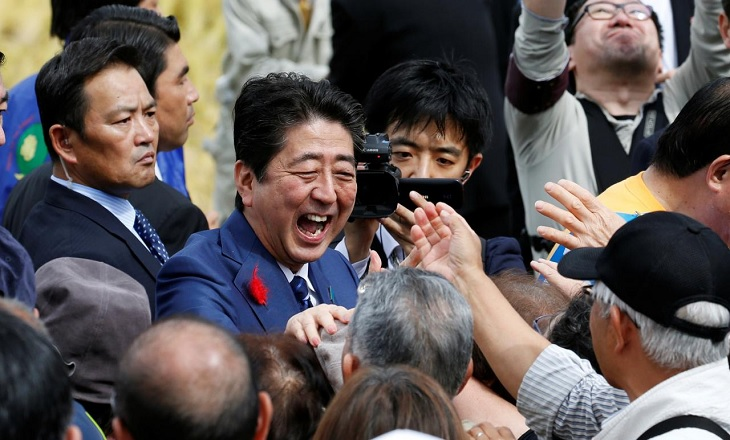 japan general election 2017 trading