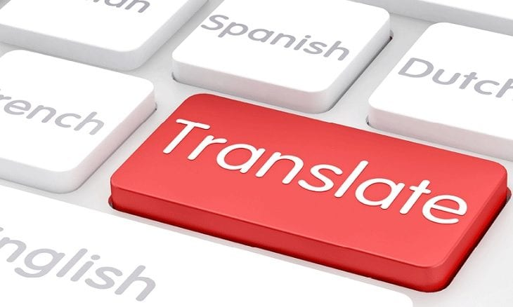 translate marketing content
