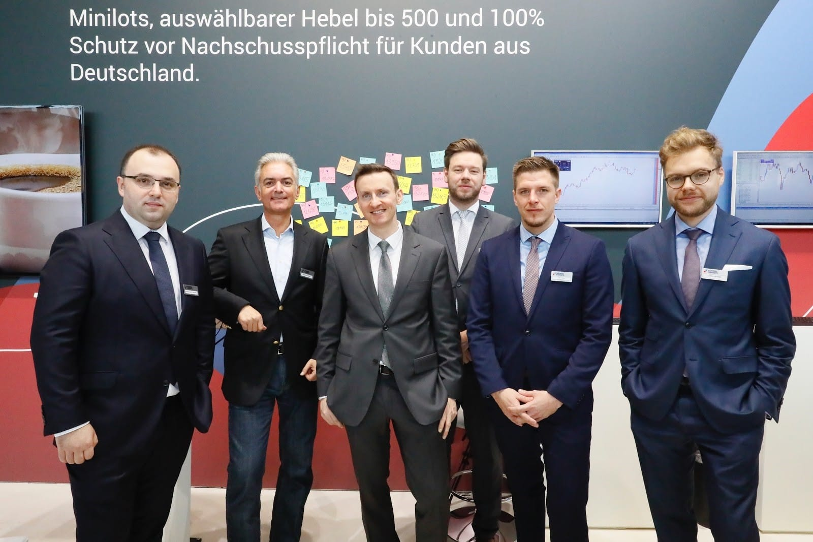 Admiral Markets German Office Team