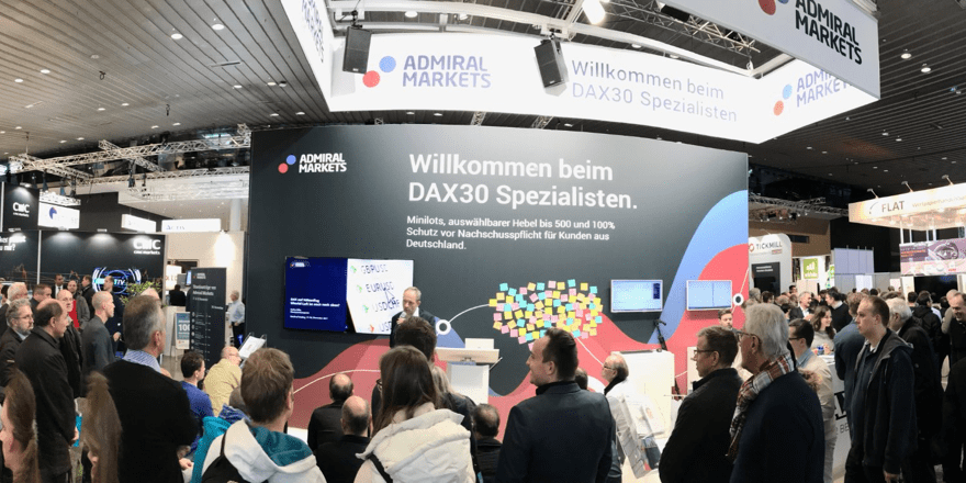 Admiral Markets World of Trading Expo in Frankfurt