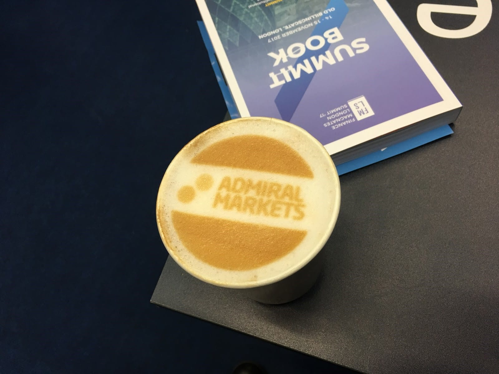 Admiral Markets coffee