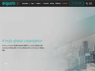 Equiti.com website