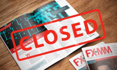 FXMM magazine closing