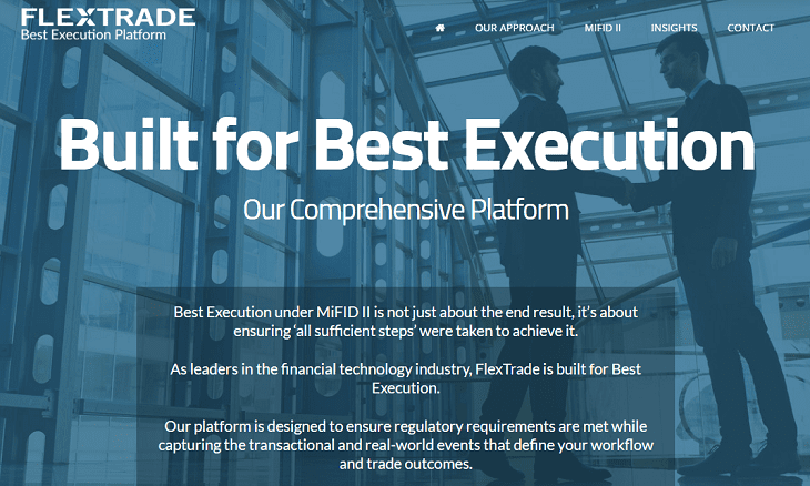 FlexTrade MiFID II execution