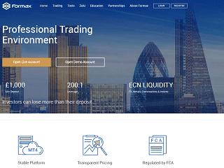 Formax website