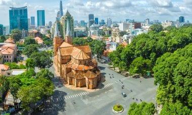 Ho Chi Minh City Vietnam trading