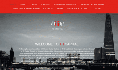 ITI Capital rebrand website