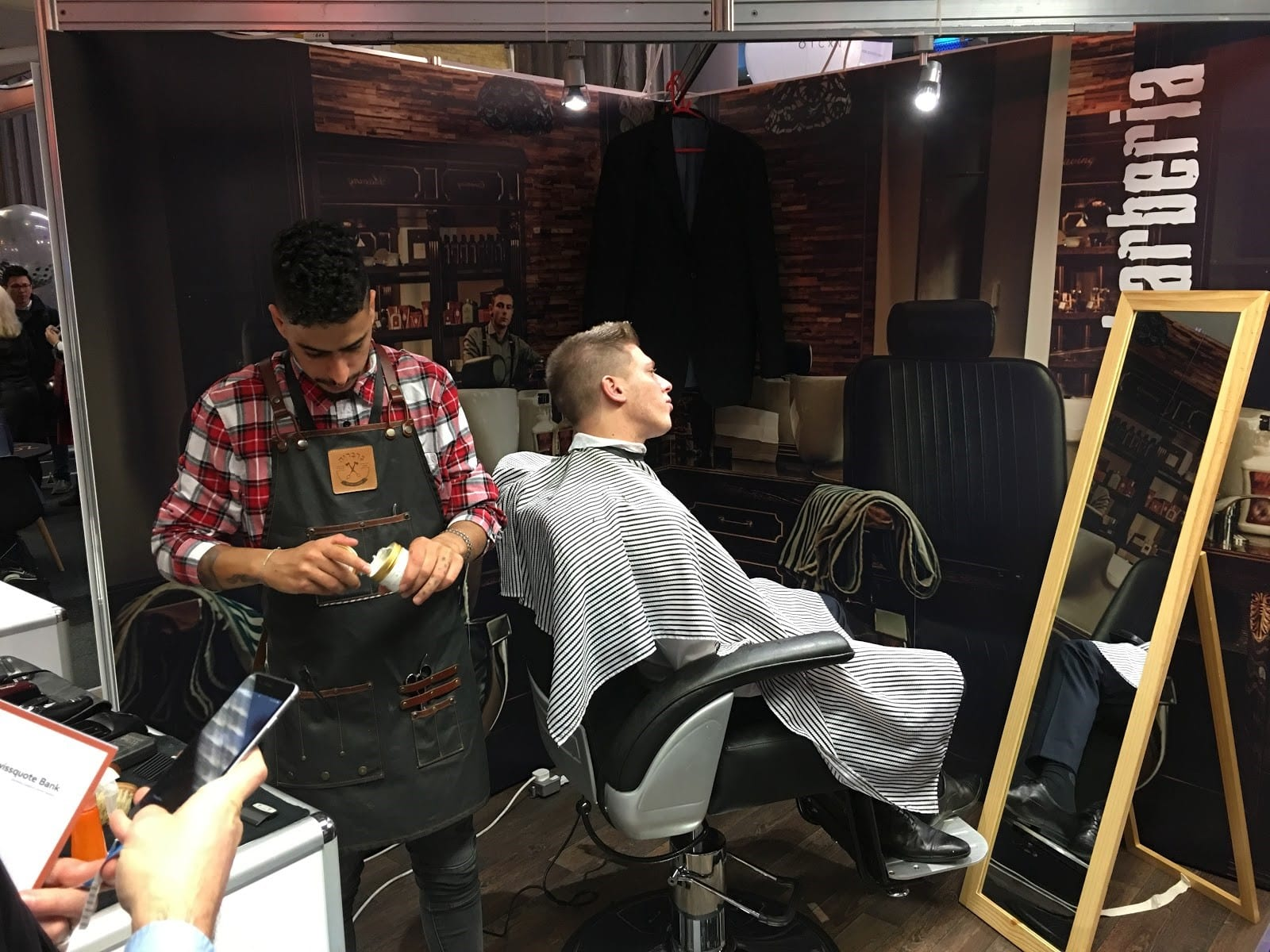 London Summit haircut
