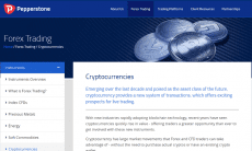 Pepperstone trade cryptocurrencies
