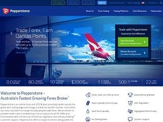 Pepperstone website 320x240
