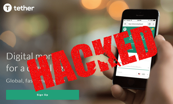 Tether cryptocurrency hack