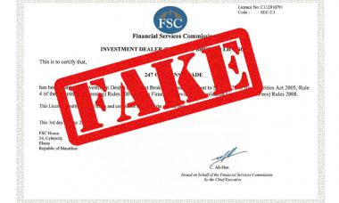 247 options trade fake license