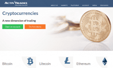Activtrades leveraged cryptocurrency trading