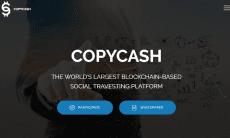 CopyCash ICO social fx trading