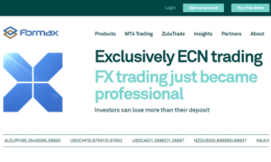 Formax Prime website