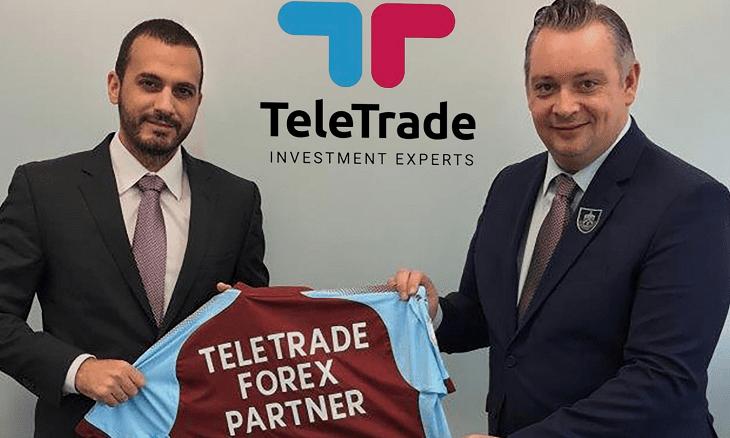 TeleTrade Burnley FC sponsor