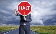 halt ICO registration