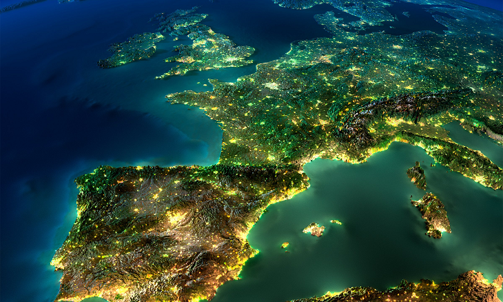 view of europe mifid