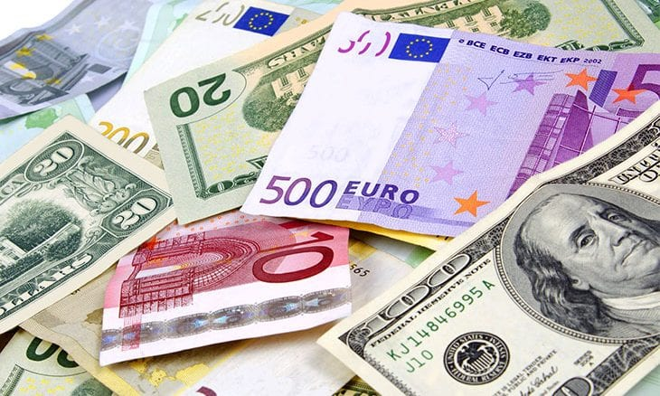 Euro Hits Four-Month High