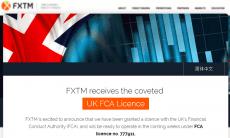 FXTM UK license