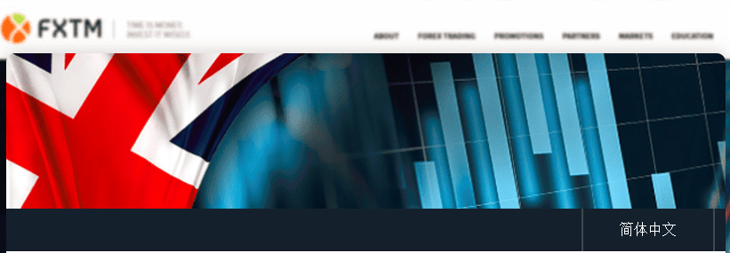 FXTM UK website