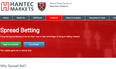 Hantec Markets spread betting