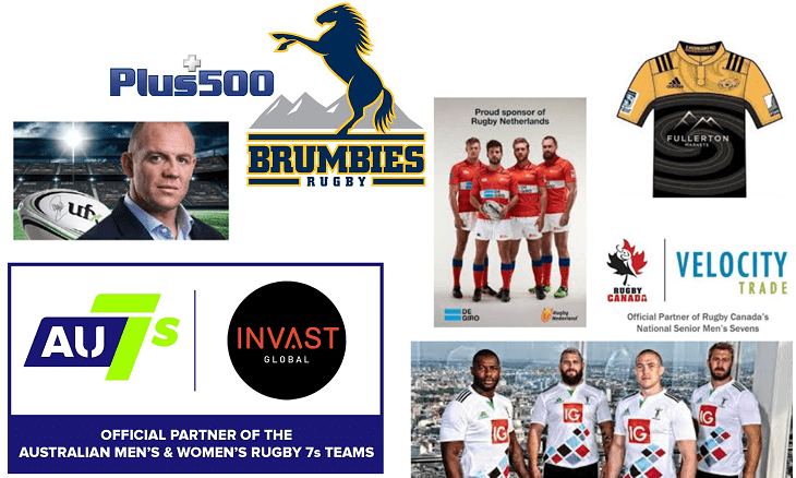 rugby sponsorships forex brokers