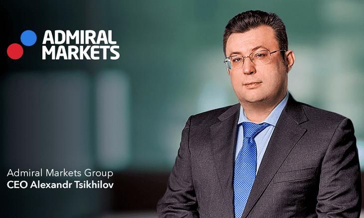 Admiral Markets CEO Alexander Tsikhilov