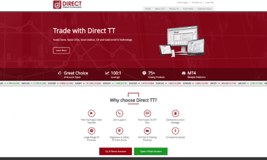 direct trading technologies dtt forex broker