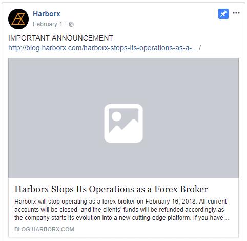 Harborx shutting