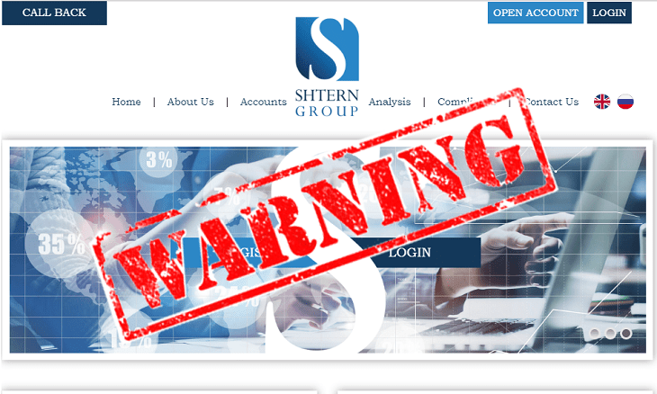 Shtern Group warning