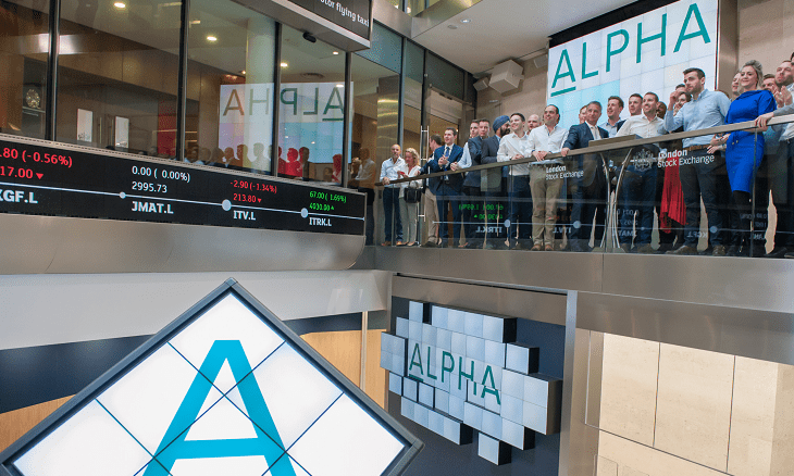 alpha fx group plc lse listing