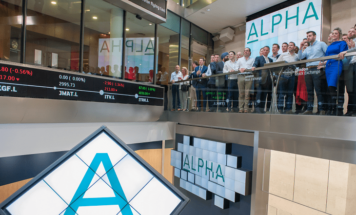 alpha fx group plc lse listing