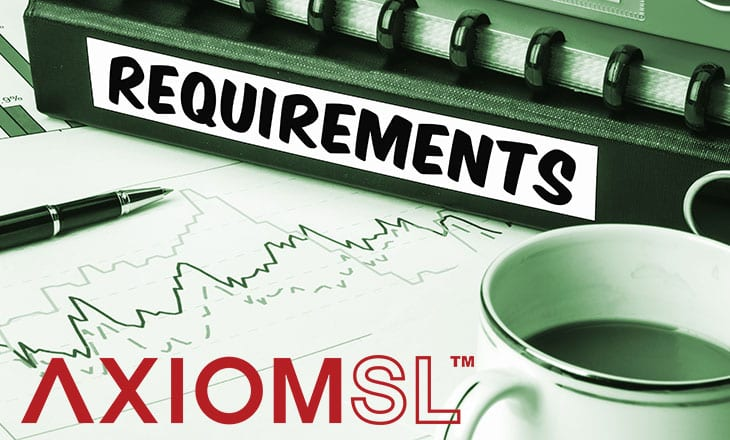 IFRS 17 requirements AxiomSL