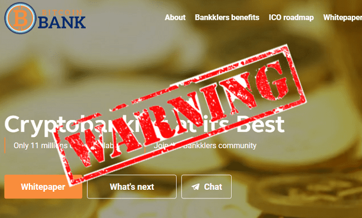 bitcoinbank warning