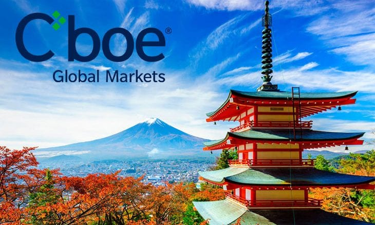 Cboe Global Markets becomes designated listing exchange in Japan for U.S. equities