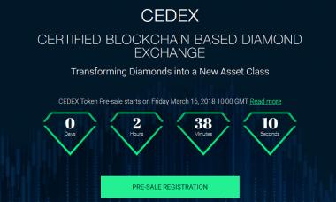 cedex ico token pre sale
