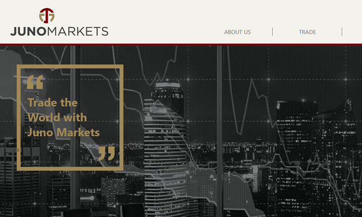 Juno Markets website