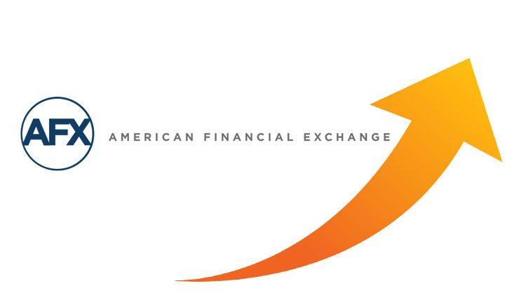 American Financial Exchange AFX trading volumes