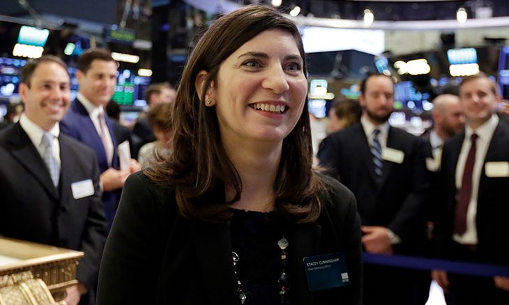 Intercontinental Exchange names Stacey Cunningham as new President of NYSE Group