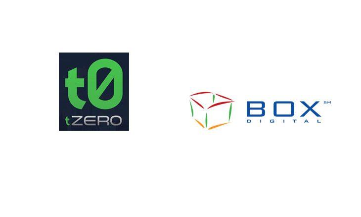 tZERO and BOX Digital Markets to create joint venture